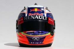 O capacete de Daniel Ricciardo, Red Bull Racing