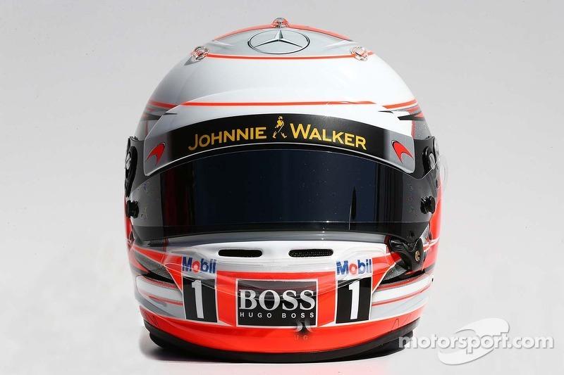 Helm von Kevin Magnussen, McLaren