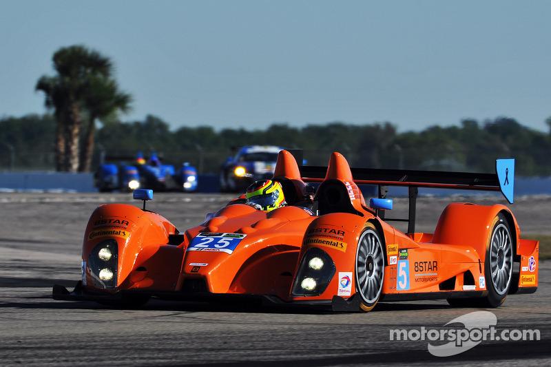 #25 8Star Motorsports ORECA FLM09 Chevrolet: Eric Lux, Tom Kimber-Smith, Michael Marsal, Sean Rayhal