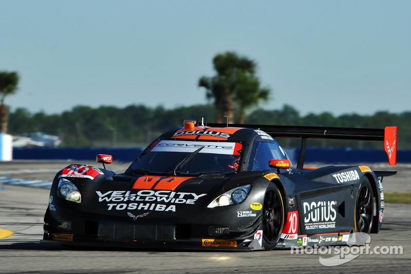 #10 Wayne Taylor Racing Corvette DP Chevrolet: Max Angelelli, Ricky Taylor, Jordan Taylor