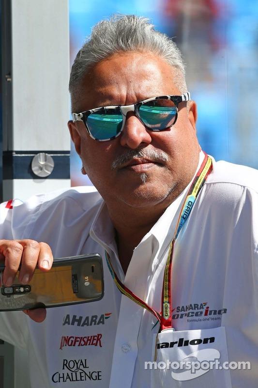 印度力量车队老板维杰·马尔雅