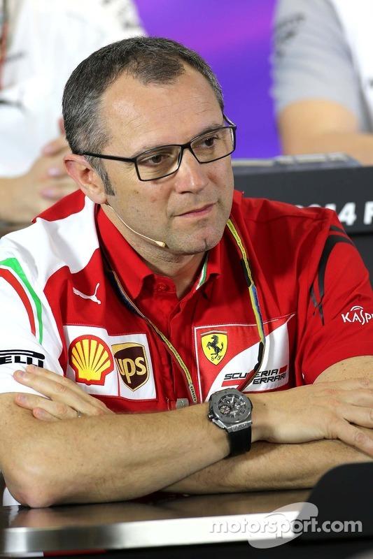 Stefano Domenicali, Direttore Sportivo della Scuderia Ferrari