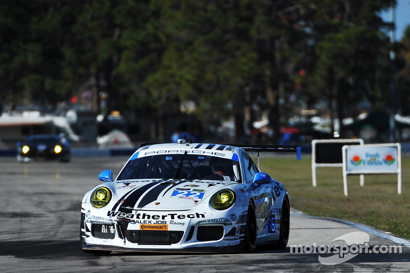 #22 Alex Job Racing Porsche 911 GT America: Cooper MacNeil, Leh Keen, Philipp Frommenwiler