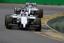 Valtteri Bottas, Williams F1 Team and Felipe Massa, Williams F1 Team
