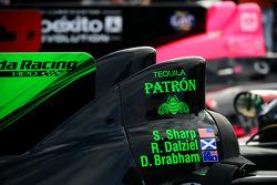 detalhe do #1 Extreme Speed Motorsports HPD ARX-03b Honda