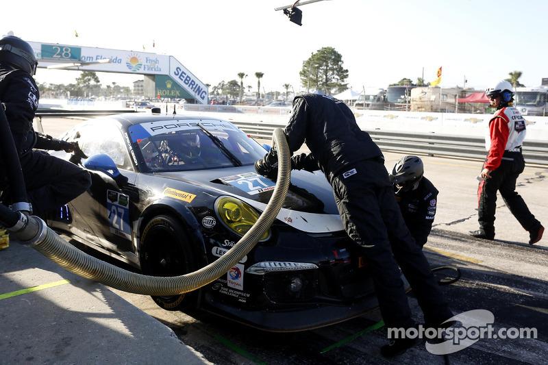 #27 邓普希 Racing 保时捷 911 GT America: 乔·福斯特, 安德鲁·戴维斯, 帕特里克·邓普希