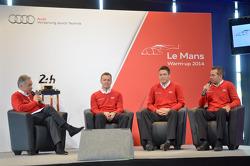 Marcel Fässler, André Lotterer e Benoit Treluyer