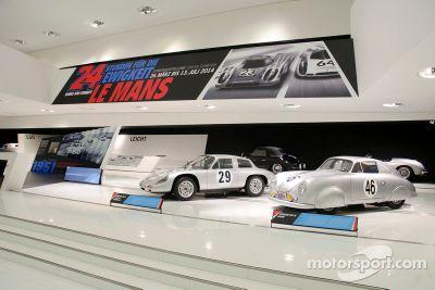 Dispaly de Le Mans en el Museo de Porsche