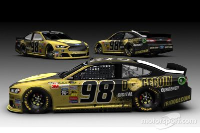 Josh Wise Dogecoin Livery