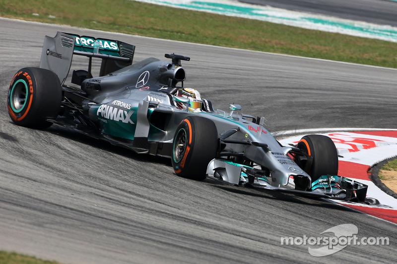 2014 : Lewis Hamilton, Mercedes F1 W05 Hybrid