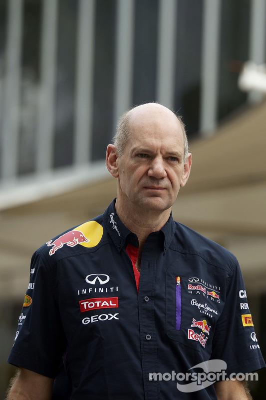 Adrian Newey, directeur technique Red Bull