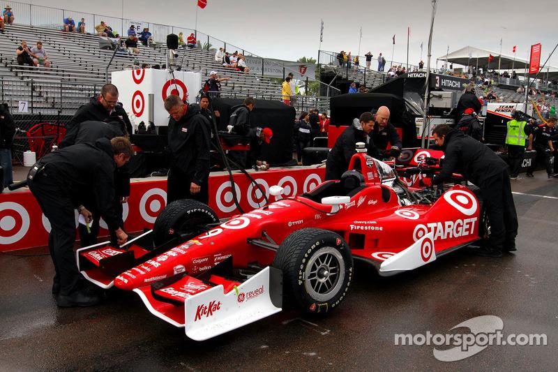 La vettura di Scott Dixon, Target Chip Ganassi Racing Chevrolet
