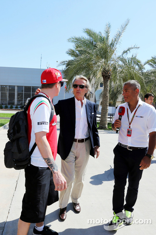 Kimi Raikkonen, Ferrari e Luca di Montezemolo, Ferrari