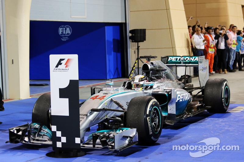 24- Gran Premio de Bahrein 2014. Mercedes