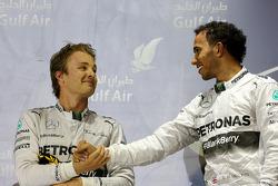 Lewis Hamilton, Mercedes AMG F1 Team e Nico Rosberg, Mercedes AMG F1 Team  06