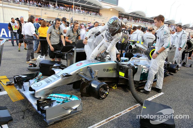 Nico Rosberg, da Mercedes AMG F1 Team 06