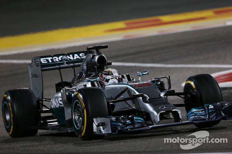2014 Bahreyn GP: Lewis Hamilton, Mercedes AMG F1 W05