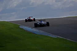F3 cars drive up the hill
