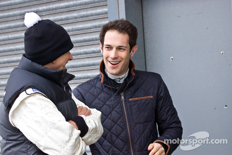 Damon Hill  ve Bruno Senna
