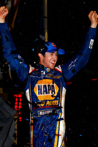 Race winner Chase Elliott
