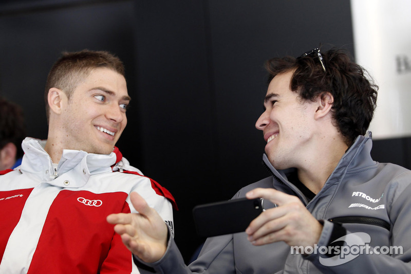 Edoardo Mortara, Audi Sport Team Abt and Robert Wickens, Mercedes AMG DTM-Team HWA