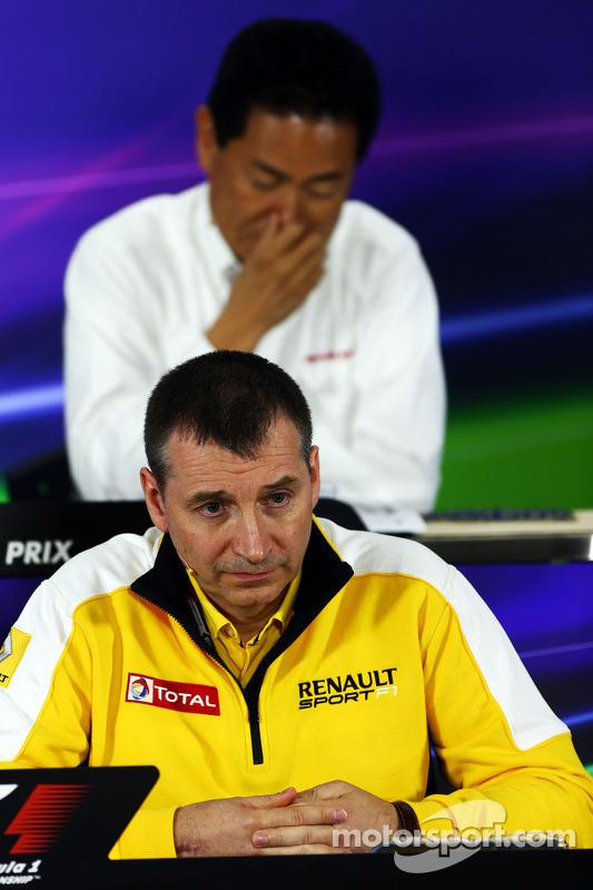 Rob White, Renault Sport, Stellvertretender Geschäftsführer