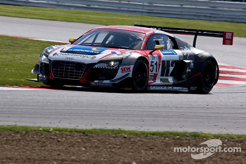#51 塞巴斯蒂安·勒布 Racing 奥迪 R8 LMS ultra: 亨利·阿西, 迈克·帕里西, Olivier Lombard