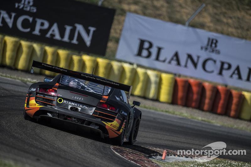 #3 G-Drive Racing Audi R8 LMS Ultra: Stéphane Ortelli, Grégory Guilvert