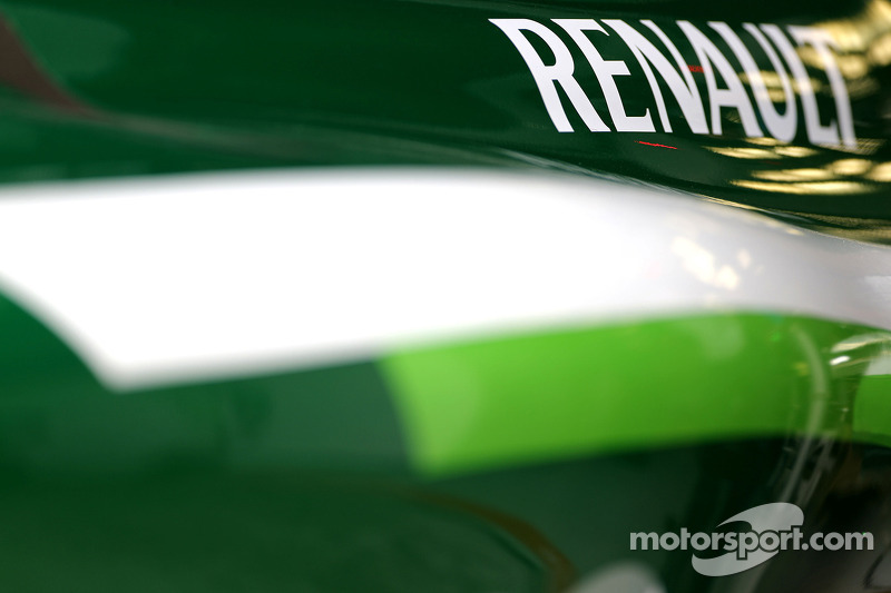 Schriftzug: Renault
