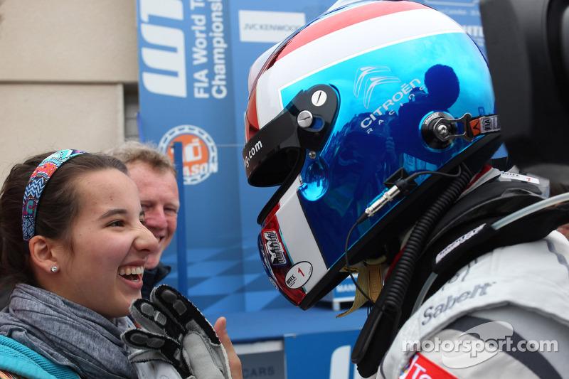 Yvan Muller, Citroën C-Elysee WTCC, Citroën Total WTCC vincitore della gara con la figlia