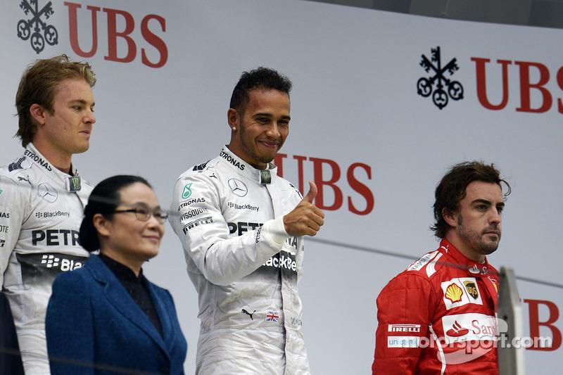 Fernando Alonso, 3º en el GP de China 2014