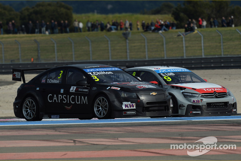 Tom Chilton, Chevrolet Cruze RML TC1, ROAL Motorsport e Sébastien Loeb, Citroën C-Elysee WTCC, Citro