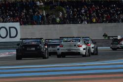 Tom Chilton, Chevrolet RML Cruze TC1, ROAL Motorsport and Sébastien Loeb, Citroën C-Elysee WTCC, Citroën Total WTCC