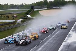 起步: Will Power, Penske雪佛兰车队 ,领先
