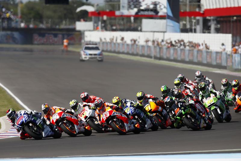 Partenza: Jorge Lorenzo, Yamaha Factory Racing al comando