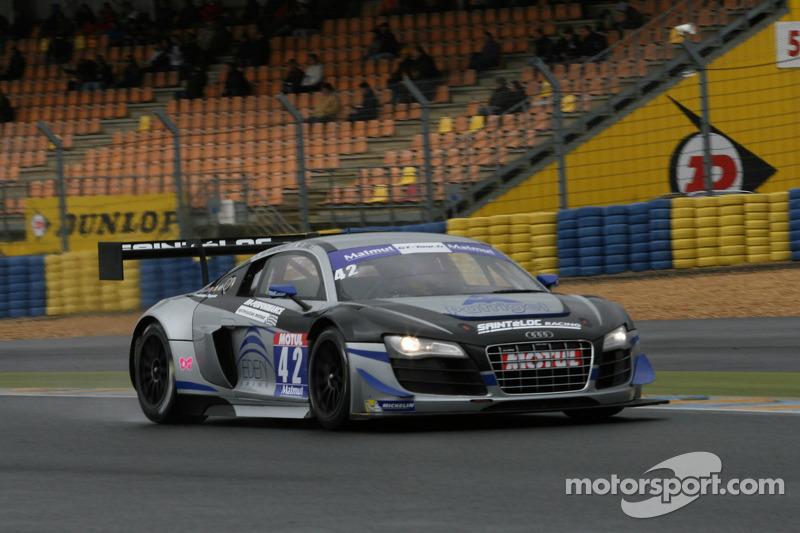 #42 Saintéloc Racing 奥迪 R8 LMS Ultra: 大卫·阿利代, 格里高利·吉尔维
