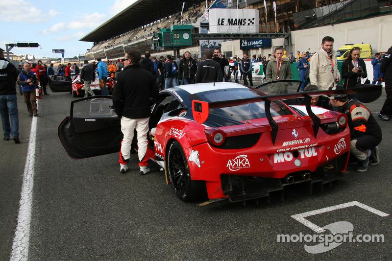 #1 Team Sofrev ASP 法拉利 458 Italia: 菲利普·吉奥克, 摩根·穆林-特拉弗尔