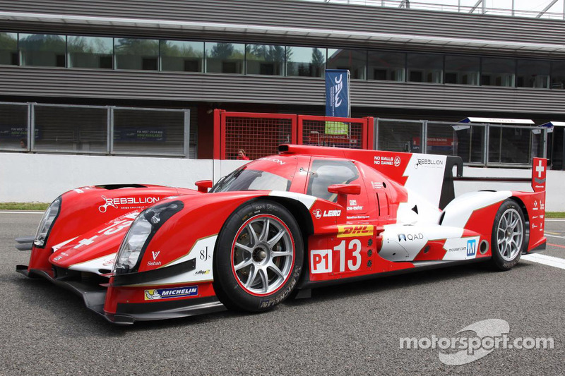 Rebellion R-One presenta la sua livera