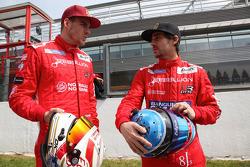 Rebellion车手Dominik Kraihamer和尼古拉斯·普罗斯特