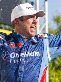 Race winner Elliott Sadler