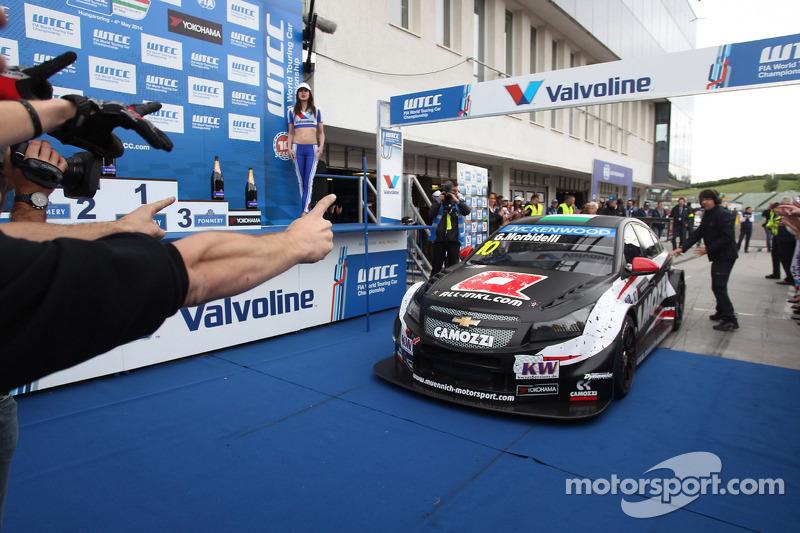 Gianni Morbidelli, Chevrolet Cruze RML TC1, vincitore ALL-INKL_COM Munnich Motorsport