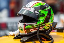 Dane Cameron's helmet