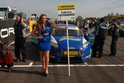 Grid Girl Airwaves Racing