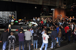 Nico Hulkenberg, Sahara Force India F1 unveils the newly liveried Sahara Force India F1 VJM07 at the Smirnoff Launch Party at a karting circuit in Barcelona