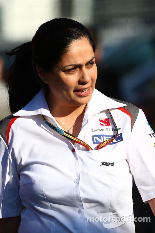 Monisha Kaltenborn, Chefe de equipe da Sauber