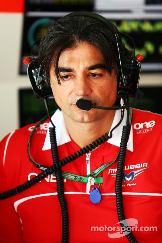 Francesco Nenci, Marussia F1 Team, Ingegnere di pista