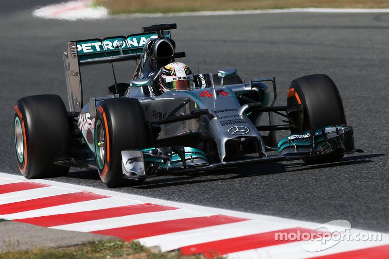 2014: Lewis Hamilton, Mercedes F1 W05 Hybrid