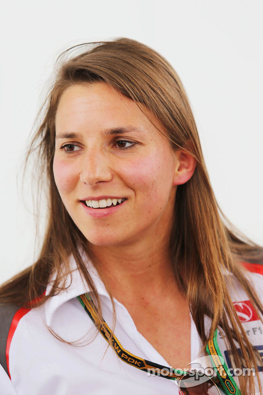 Simona de Silvestro, Sauber F1 Team Test Driver at Spanish GP