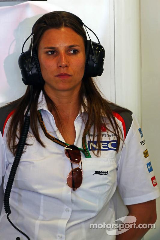 Simona de Silvestro, Sauber, Testfahrerin