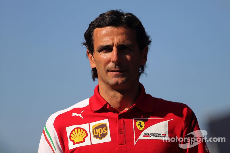 Pedro de la Rosa, piloto de pruebas, Scuderia Ferrari